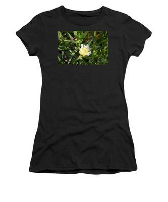 Women's T-Shirt featuring the photograph Earth Music by Laurie Lundquist