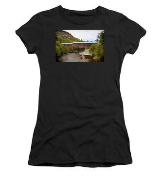 Honey Run Covered Bridge Women's T-Shirt