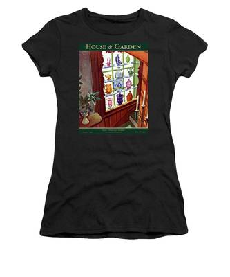 House And Garden House Planning Number Cover Women's T-Shirt