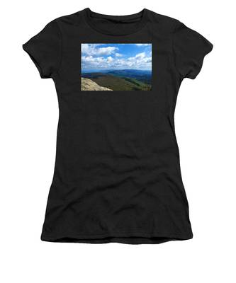 Women's T-Shirt featuring the photograph Humpback Rocks View North by Jemmy Archer