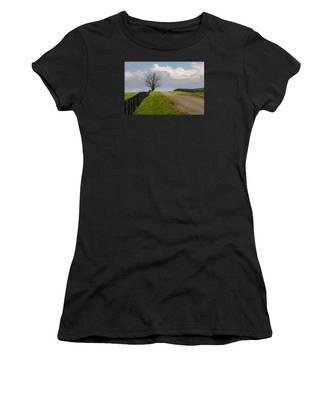 Kentucky Horse Farm Road Women's T-Shirt