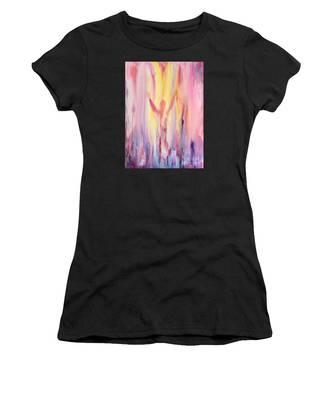 Let It Flow Women's T-Shirt by Nancy Cupp