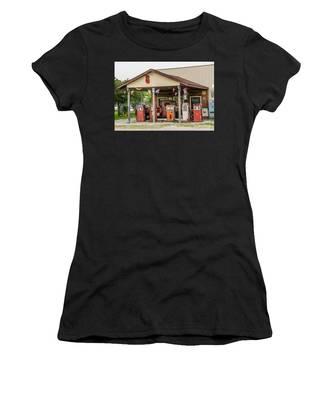 Memories Of Route 66 Women's T-Shirt