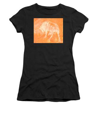 Orange Bull Negative Women's T-Shirt