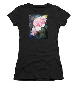 Pink Rose Caroline Women's T-Shirt