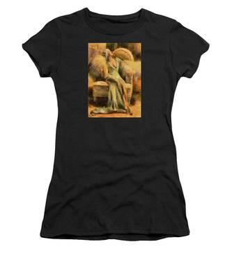 Portrait Of Jean Harlow Women's T-Shirt