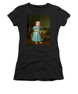 Portrait Of Sally Puffer Sanderson Women's T-Shirt