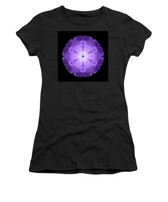 Purple Petunia I Flower Mandala Women's T-Shirt