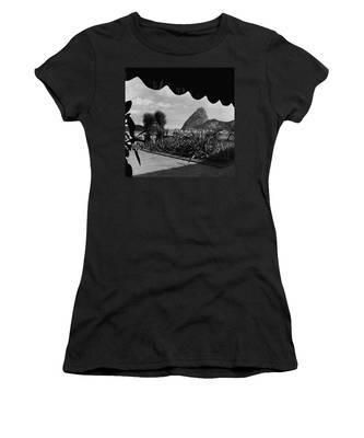 Sugarloaf Mountain Seen From The Patio At Carlos Women's T-Shirt