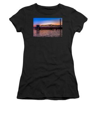Surf City Swing Bridge Women's T-Shirt