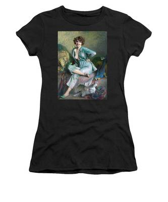 The Familiar Birds Women's T-Shirt