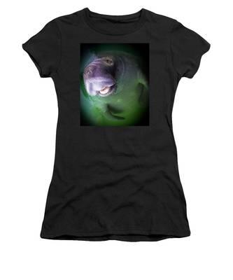 The Happy Manatee Women's T-Shirt