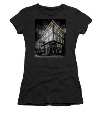 Women's T-Shirt featuring the photograph The White Horse Tavern by Chris Lord