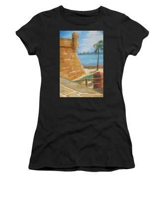 Warm Days In St. Augustine Women's T-Shirt