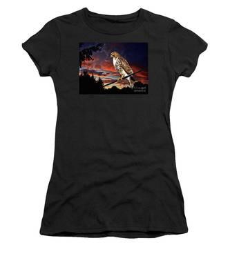 Watching The Sun Set Women's T-Shirt