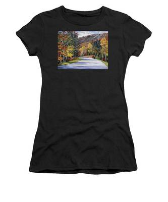 Waterville Road New Hampshire Women's T-Shirt