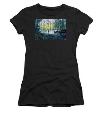 Wetlands On Skipwith Common Women's T-Shirt