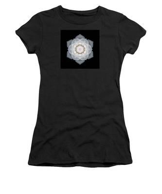 White Rose I Flower Mandala Women's T-Shirt