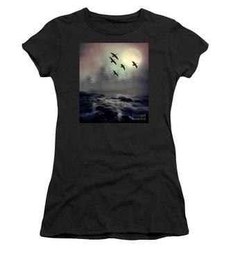 Winter Golden Hour Women's T-Shirt