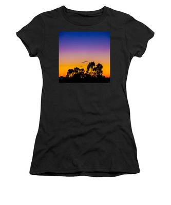 Women's T-Shirt featuring the photograph Osibisa Dawn by Chris Lord