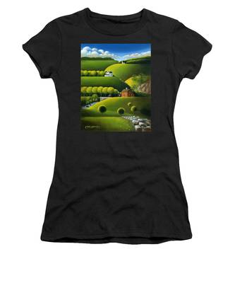 Foothills Of The Berkshires Women's T-Shirt