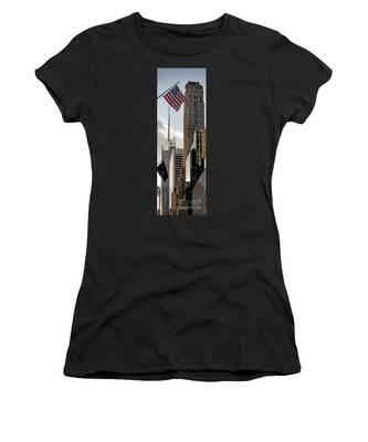 New York Women's T-Shirt by Juergen Held