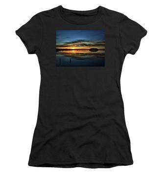 Sunrise Onset Pier Women's T-Shirt
