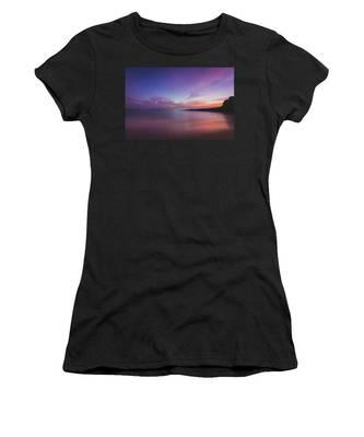 Diver's Cove Sunset Women's T-Shirt