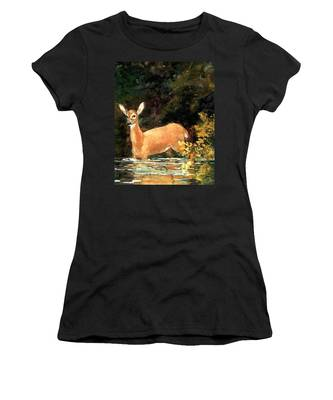 Designs Similar to A Doe by Winslow Homer