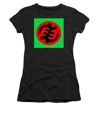 Adinkra Symbol Gye Nyame Except God Only God Women's T-Shirt