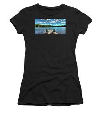 Adirondack Panorama Women's T-Shirt