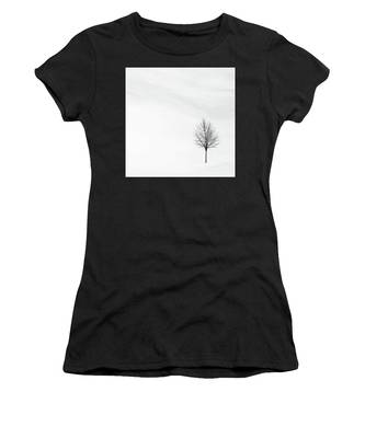 Alone In The Storm Women's T-Shirt