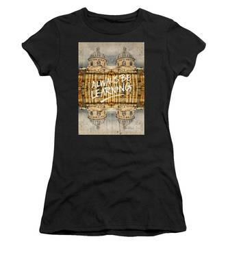 Always Be Learning Institut De France Paris Architecture Women's T-Shirt