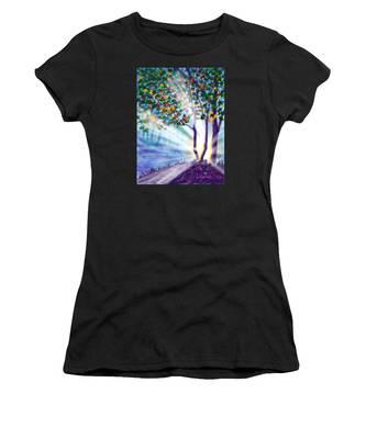 Another Lightburst Women's T-Shirt