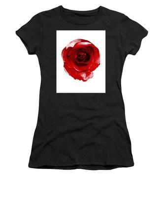 Artpaintedredrose Women's T-Shirt