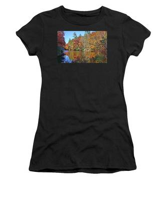 Autumn At The Lake 2 Women's T-Shirt