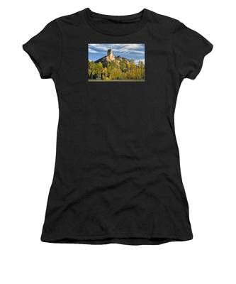 Before Sunset At Chimney Rock Women's T-Shirt