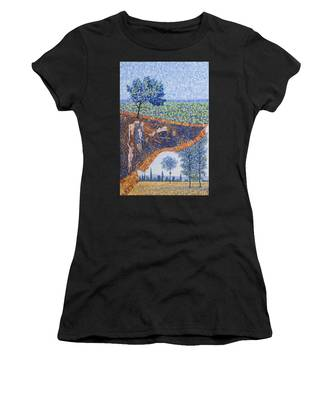Behind The Canvas Women's T-Shirt
