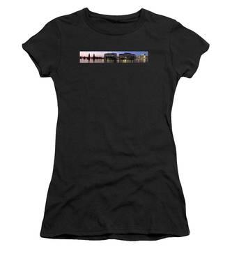 Berlin 360 Grad  Women's T-Shirt by Juergen Held