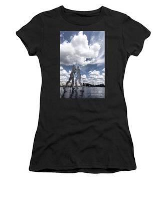 Berlin Molecule Men Spree Women's T-Shirt by Juergen Held