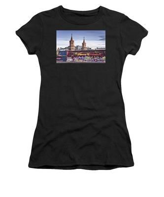 Berlin Wall Women's T-Shirt by Juergen Held