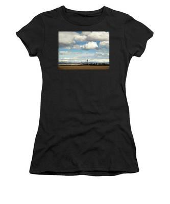 Big Sky Water Tower Women's T-Shirt