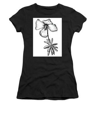 Birdsfoot Violet Women's T-Shirt