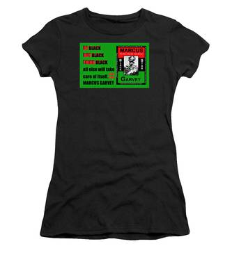 Black Star Garvey Women's T-Shirt