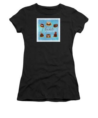 Chocolate Candies Women's T-Shirt
