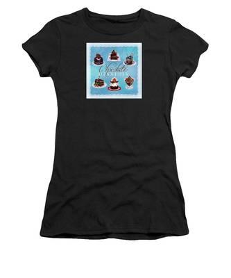 Chocolate Desserts Women's T-Shirt