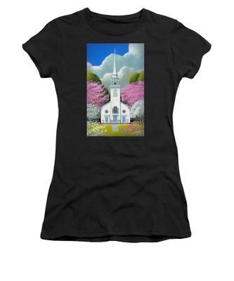 Church Of The Dogwoods Women's T-Shirt
