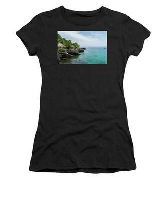 The Cliffs Of Negril Women's T-Shirt