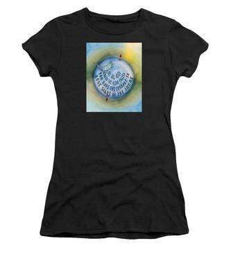 Courage To Lose Sight Of The Shore Mini Ocean Planet World Women's T-Shirt