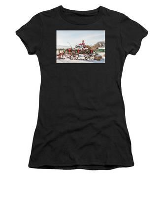 Cowboy Santa Taking A Quick Break Women's T-Shirt
